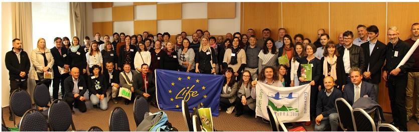 Skupinska slika udeležencev konference