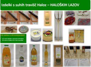 Nabor izdelkov