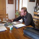 Predstavljanje načrta kmetije v Halozah