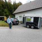 Predaja prikolice za prevoz živine Kum