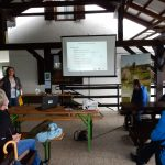 V Lovski koči na Dobovcu je potekala predstavitev projektnih aktivnosti na Kumu