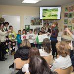 Opening of grasslands classroom in Kum